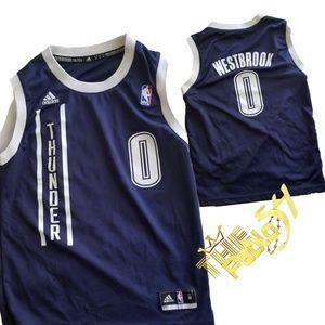 Adidas Westbrook Youth Revolution 30 Swingman Sz M